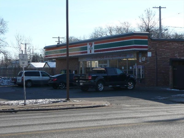 7-11 & coke slurpees, even in the middle of winter!