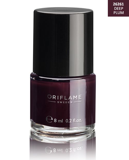 http://www.istyle99.com/Oriflame-Nail-Paint/?cid=mj04 Oriflame Pure Colour Nail Polish - Deep Plum 8ml @ 15% OFF Rs 210.00 Only FREE Shipping + Extra Discount - Giordani Gold Jewel Lipstick, Buy Giordani Gold Jewel Lipstick Online, Produk Oriflame Giordani Gold Bronzing Pea