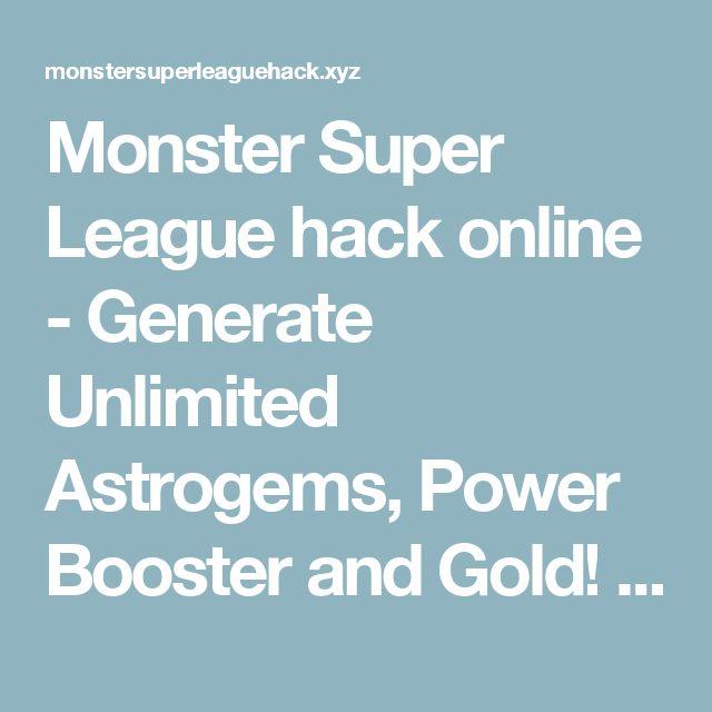 Pin By Jason Purcell On Monster Super League Mod Apk Pinterest