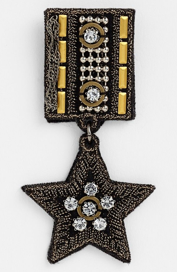 'Military Star' Pin