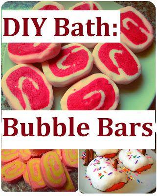 DIY Bath Bubble Bars
