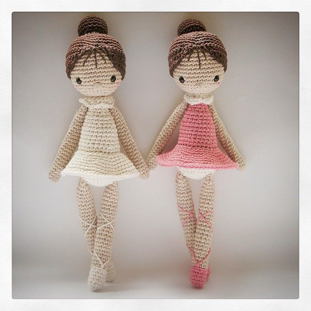 crochet doll amigurumi ballet ༺✿ƬⱤღ✿༻                                                                                                                                                      Mais
