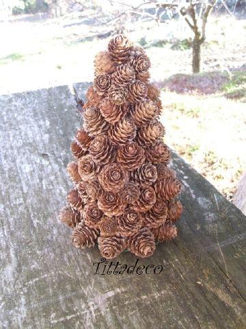 Un albero di pigne - tutorial