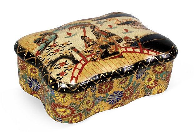 Oval Travel Box                      on OneKingsLane.com