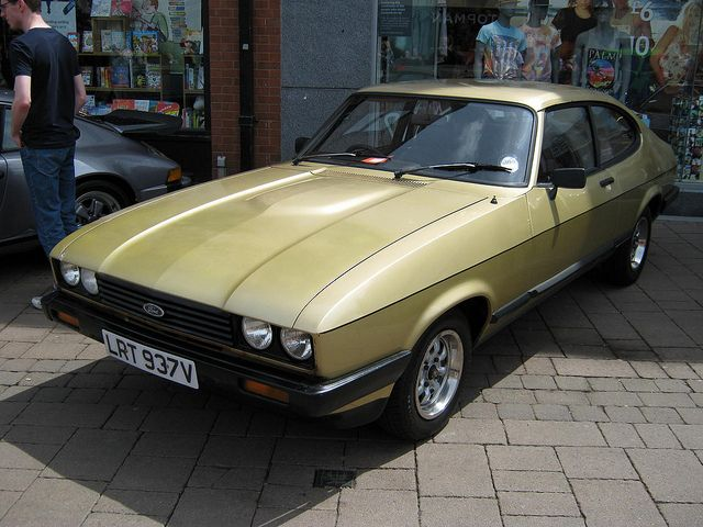 Ford Capri Mk3 2.0GL auto - not much to say  - bought cheap, used for 6 months, sold for same price - nowhere near as much fun as the mk1