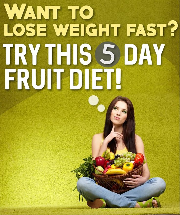 Want To Lose Weight Fast? Try This 5 Day Fruit Diet!