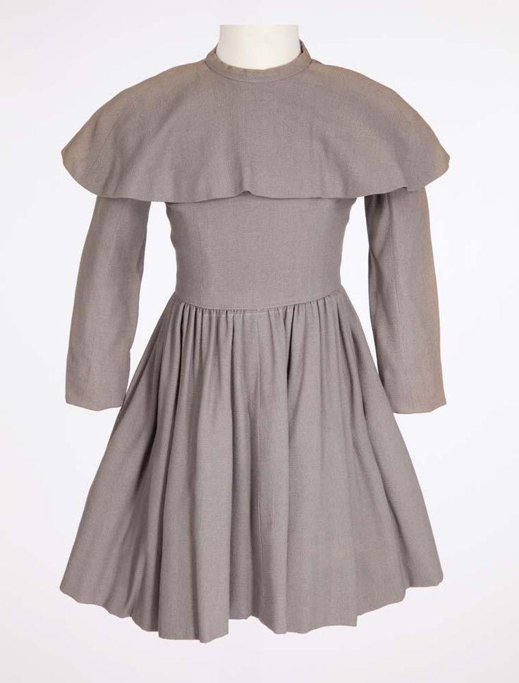 "Peggy Ann Garner ""Younger Jane Eyre"" grey dress from Jane Eyre"