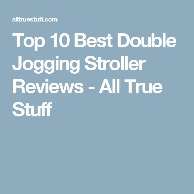 Top 10 Best Double Jogging Stroller Reviews - All True Stuff