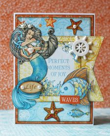 ScrapBerry's Ocean Enchantment card made by Romy Veul