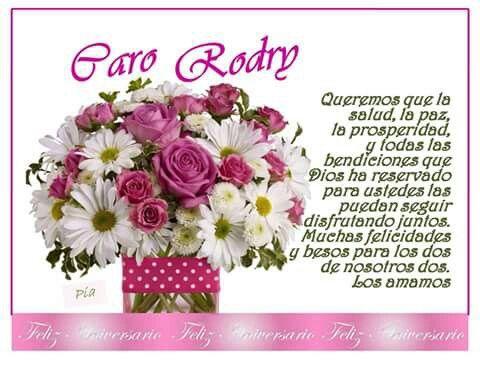 Aniversario Caro - Rodry