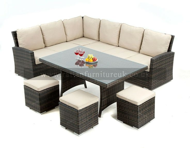Beau New For 2014 Zebrano Rattan Have This Amazing Rattan Garden Corner Sofa Set  That Can Be