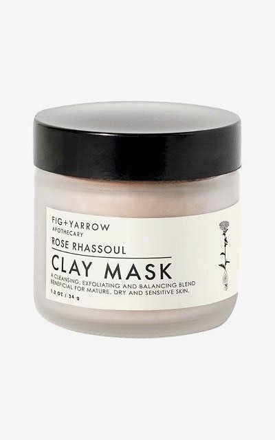Fig + Yarrow Rose Rhassoul Clay Mask.