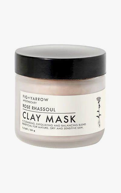 Fig + Yarrow Rose Rhassoul Clay Mask.