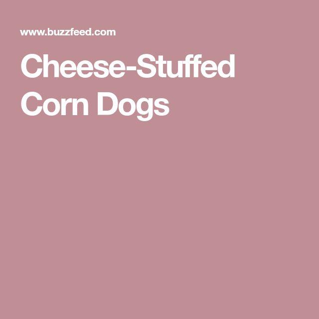 Cheese-Stuffed Corn Dogs