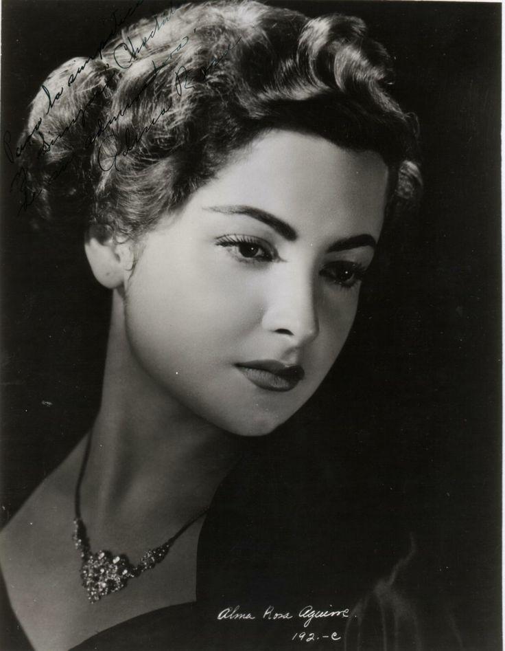 Mexican actress Alma Rosa Aguirre i