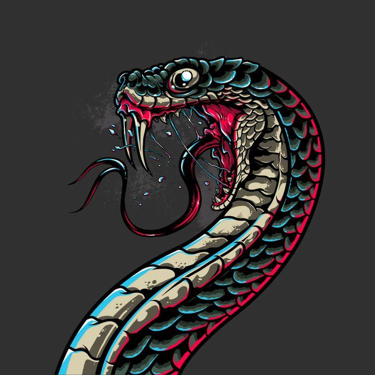 snake tee shirt design - Custom T Shirt Design