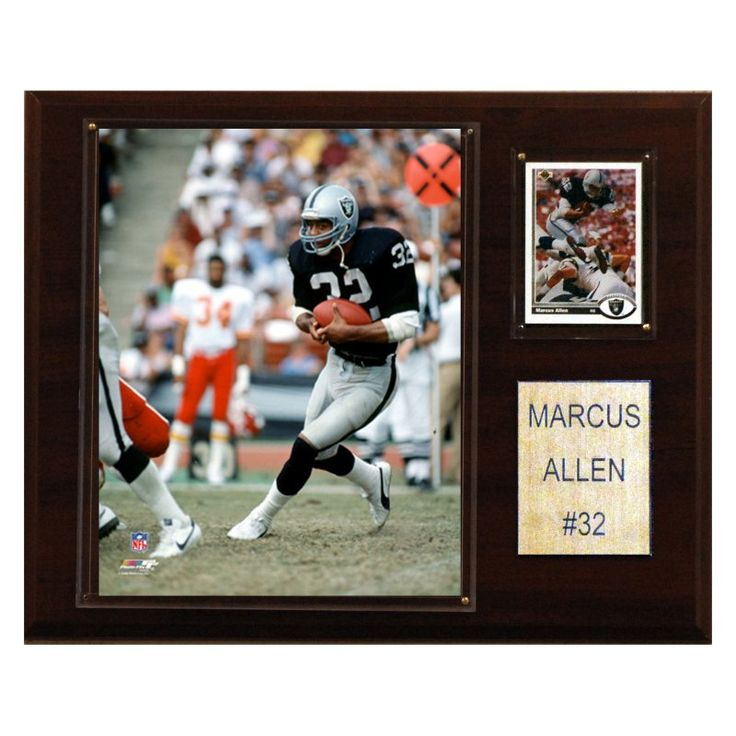 NFL 12 x 15 in. Marcus Allen Oakland Raiders Player Plaque - 1215MALLEN