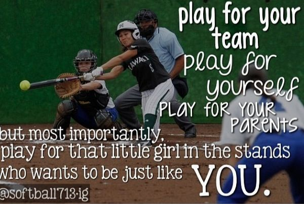 Best Deals On Ink montserpreneur.com -  This is my favorite softball quote of all time,