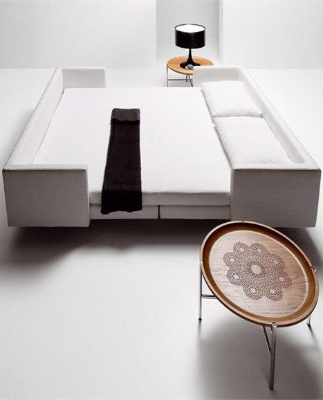 Sofa Bed SCOOP QUADRO By Saba Italia Design Guido