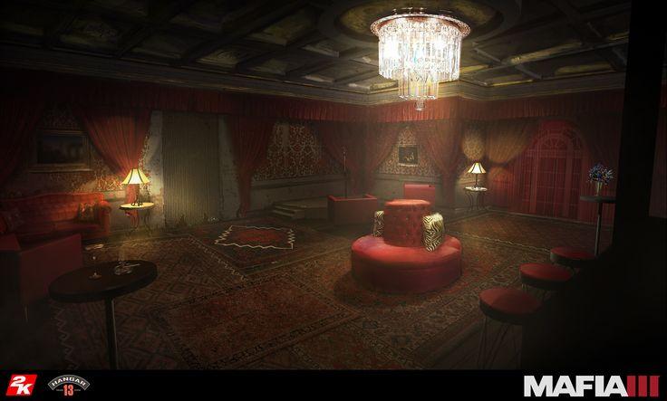 ArtStation - Mafia 3 Interiors, Jonathan Guzi