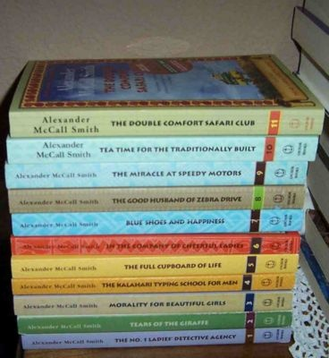 # 1 Ladies Detective Agency Books -   loved the history of Africa woven into the stories.