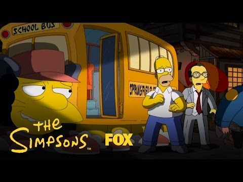 An Anime Tribute | Season 25 | THE SIMPSONS - YouTube