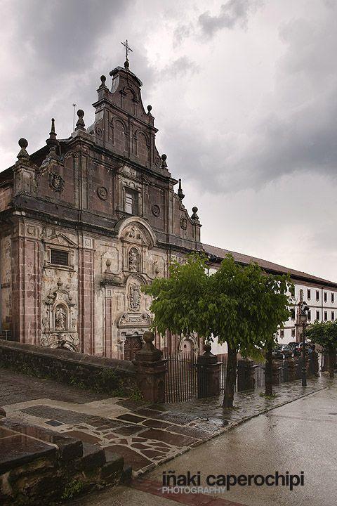 Convento de Nuestra Senora de los Angeles. Arizkun.  © Inaki Caperochipi Photography #baztan #navarra