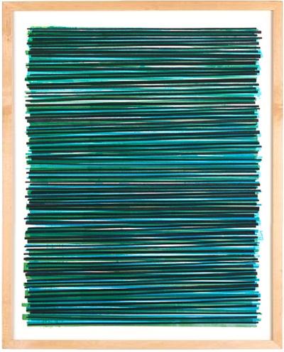 Sweet textures. Line Series Monoprint No. 10 $120.00