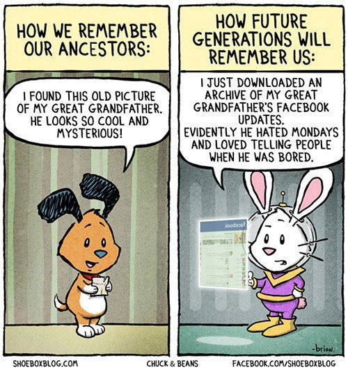 Thanks to Officially Unfunny - https://www.facebook.com/OfficiallyUnfunny: Funny Cartoon, Geek Humor, Funny Humor, Genealogy Humor, Funny Stuff, Friday Funny, Tech Humor, Funny Thoughts, Future Generation