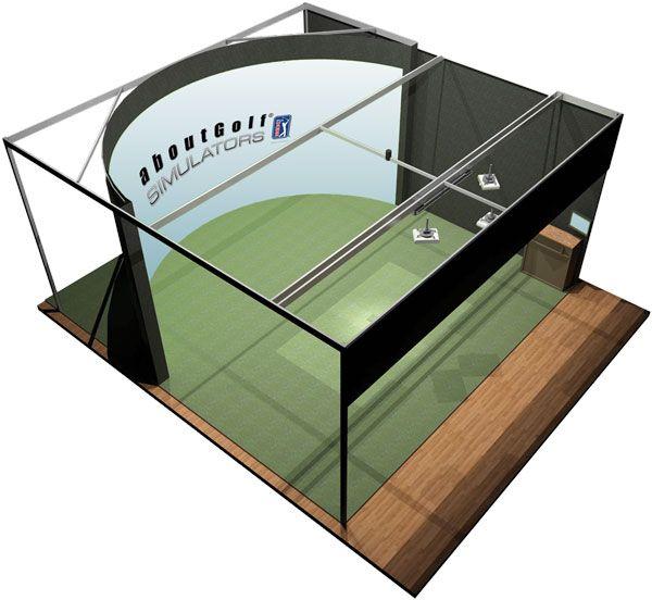Residental Golf Simulators | aboutGolf PGA Tour Indoor Golf ...