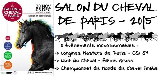 Salon du Cheval de Paris 2015 via #toutoblog.unblog.fr