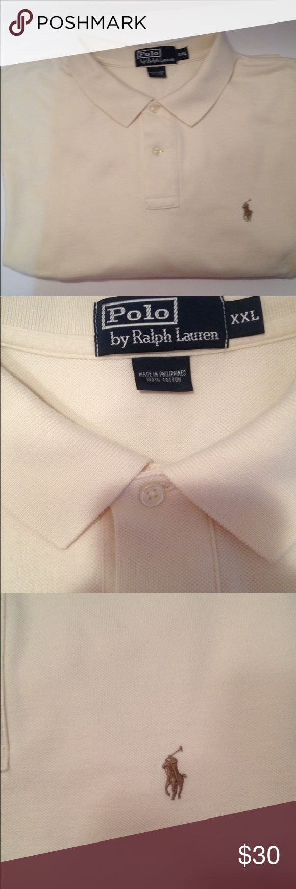 POLO by RALPH LAUREN Men's Shirt Polo by Ralph Lauren men's shirt long sleeves  used excellent condition Polo by Ralph Lauren Shirts Polos