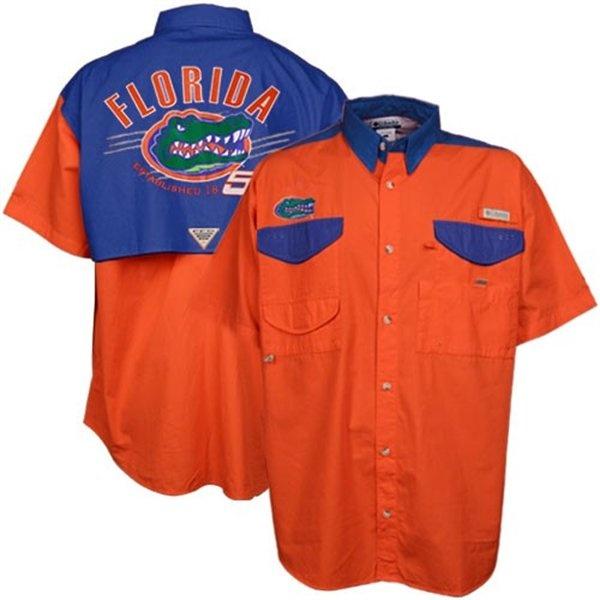 Columbia Florida Gators Performance Fishing Shirt