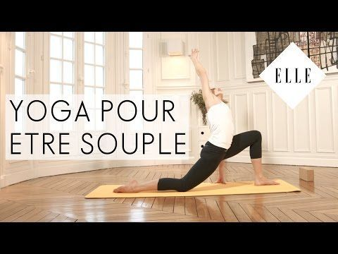 Le yoga pour s'affiner I ELLE Yoga - YouTube