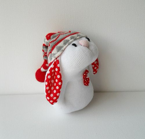 sock bunny | Flickr - Photo Sharing!