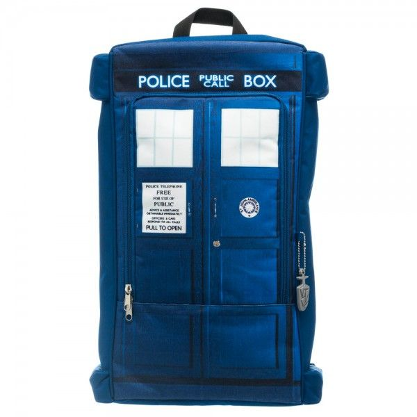 Doctor Who Tardis Backpack !!! It's bigger on the inside!