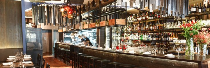 Monopole - It's a wine bar with delicious eats. It's a restaurant with delicious wine. It's the new digs from Nick Hildebrandt, Brent Savage with some help from their favourite designer, Pascale Gomes McNabb. It's a palate of grey felt, dark wood and tinkling glass. And while you wouldn't accuse Monopole of being the Bentley with its pants down, it's certainly a little looser and a little more casual than its older sister.