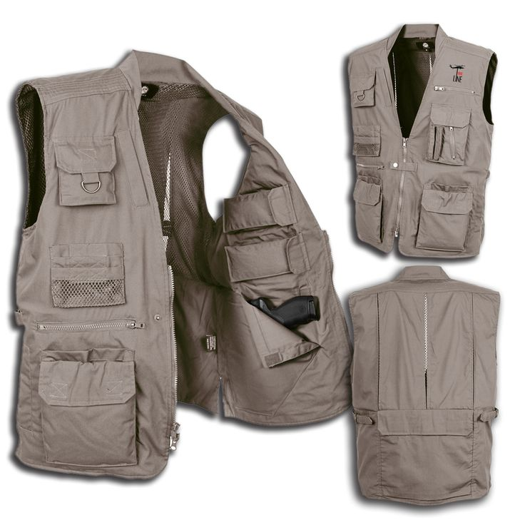 Nine Line Apparel - Rothco Plainclothes Concealed Carry Vest, $79.99 (http://www.ninelineapparel.com/rothco-plainclothes-concealed-carry-vest/)