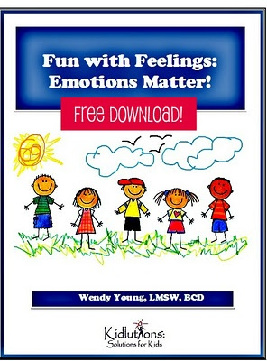 """Spin-Doctor Parenting"": Fun with Feelings {FREE Printable Workbook}"
