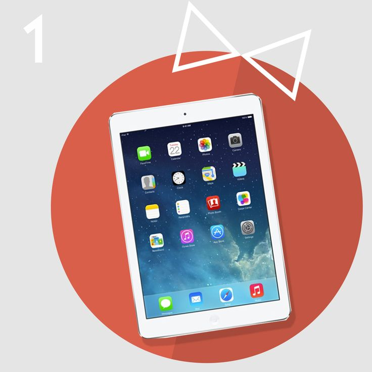 Here's the first obvious choice for the perfect Christmas gift - iPad Air (just €409 in the shop). It's thin, extremely light and handy & easy to master for anyone.   Want to get more specs & uses? Just pop over to the shop or give us a call on 01 49305. We're open until 6PM today!