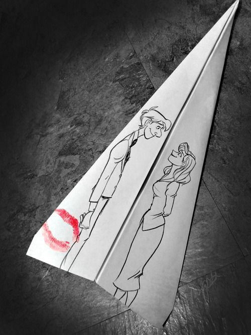 """Ode to """"Paperman"""" animated short film."""