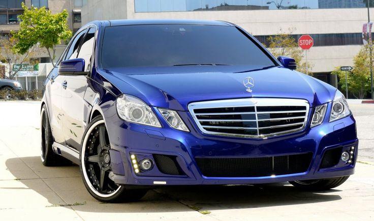 Blue Mercedes Benz | Blue Mercedes-Benz W212 Transformers 3 Cars 2 img4791 ...