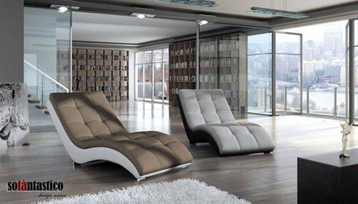 Il #design raffinato della chaise longue Agata dà un tocco di classe in più a salotti e studi. #interiordesign #arredamento