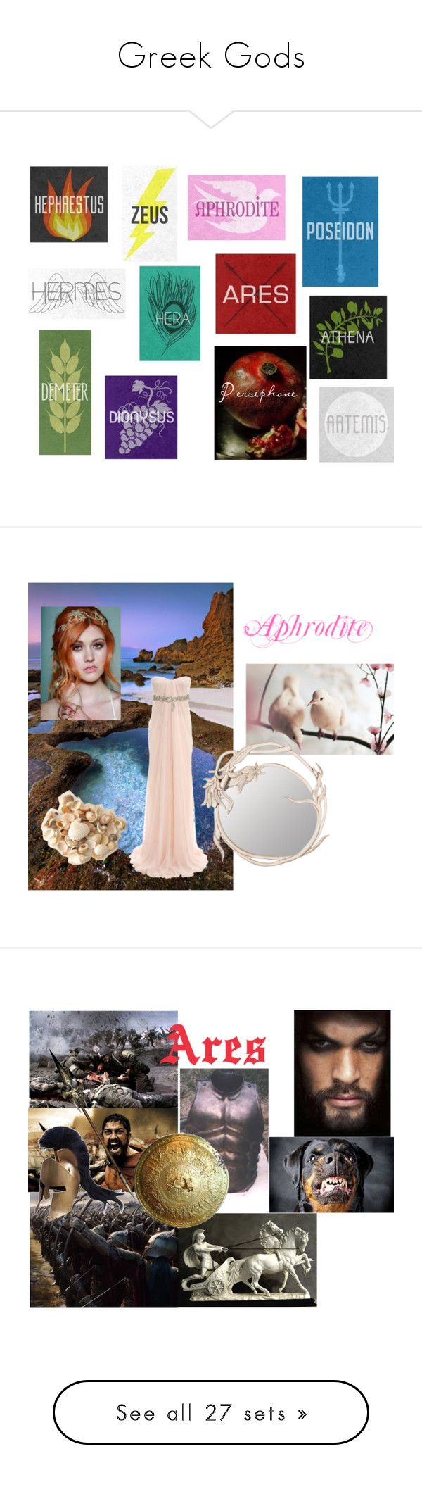 Greek Gods by emma-frost-98 on Polyvore featuring greekgods, art, Alexander McQueen, Adonis Pauli, Temperley London, men's fashion, menswear, teen wolf, people - crystal reed and crystal reed