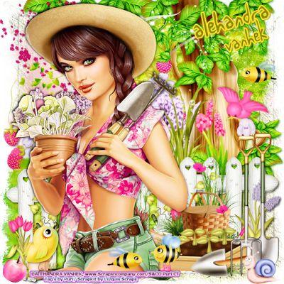 """MI RINCÓN GÓTICO: AD CT TEAM, """"Farm Girl 3"""""""