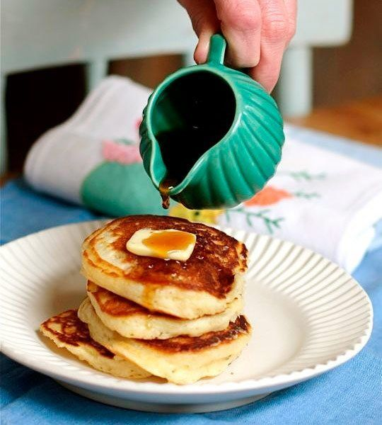 The Best-Ever Pancake Recipe: Lofty Buttermilk Pancakes- with Greek ...