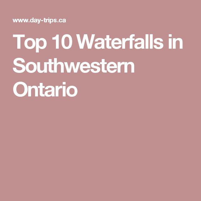 Top 10 Waterfalls in Southwestern Ontario