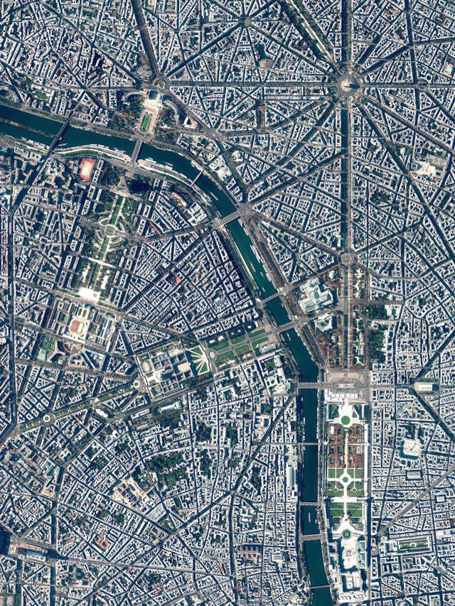 Paris France photo by dailyoverview The