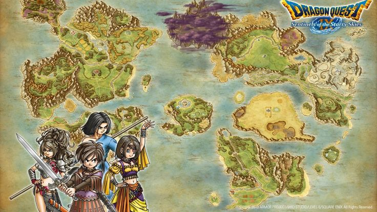 Colson Hardman - Free Awesome dragon quest ix sentinels of the starry skies backround - 1920x1080 px