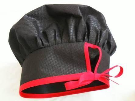 Resultado de imagen para como fazer chapeu de cozinheiro